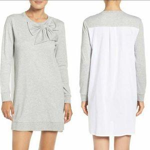 Kate Spade Interlocking Big Bow Sleep Pajama Shirt
